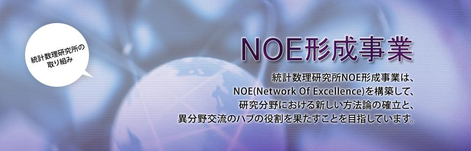 統計数理研究所NOE形成事業